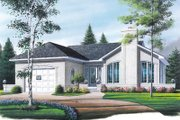 House Plan - 2 Beds 1 Baths 1080 Sq/Ft Plan #23-124