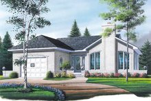 Dream House Plan - Exterior - Front Elevation Plan #23-124