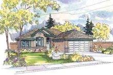 Home Plan - Modern Exterior - Front Elevation Plan #124-478