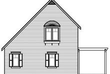 Dream House Plan - Traditional Exterior - Rear Elevation Plan #23-867