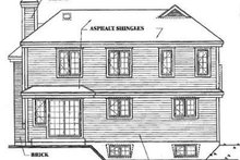 Traditional Exterior - Rear Elevation Plan #23-209