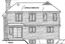 Traditional Exterior - Rear Elevation Plan #23-209