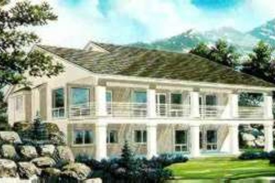 Traditional Exterior - Front Elevation Plan #308-101