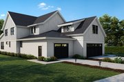 Farmhouse Style House Plan - 4 Beds 3.5 Baths 3514 Sq/Ft Plan #1070-113 Exterior - Other Elevation