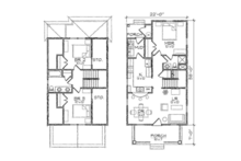 Craftsman Floor Plan - Other Floor Plan Plan #936-3