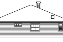Home Plan - Cottage Exterior - Other Elevation Plan #124-364