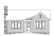 Cottage Style House Plan - 2 Beds 2 Baths 1179 Sq/Ft Plan #22-589