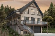Cottage Style House Plan - 4 Beds 3 Baths 2055 Sq/Ft Plan #23-2718