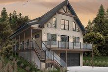 House Plan Design - Cottage Exterior - Front Elevation Plan #23-2718