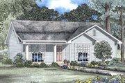 Farmhouse Style House Plan - 3 Beds 1.5 Baths 1029 Sq/Ft Plan #17-163