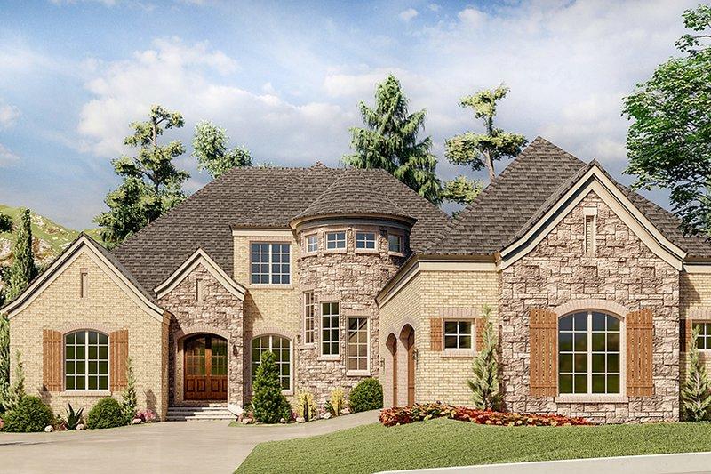 House Plan Design - European Exterior - Front Elevation Plan #923-202