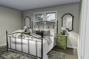 Ranch Style House Plan - 2 Beds 1 Baths 1190 Sq/Ft Plan #1060-3 Interior - Master Bedroom