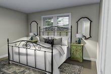 Ranch Interior - Master Bedroom Plan #1060-3