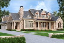 Traditional Exterior - Front Elevation Plan #927-43