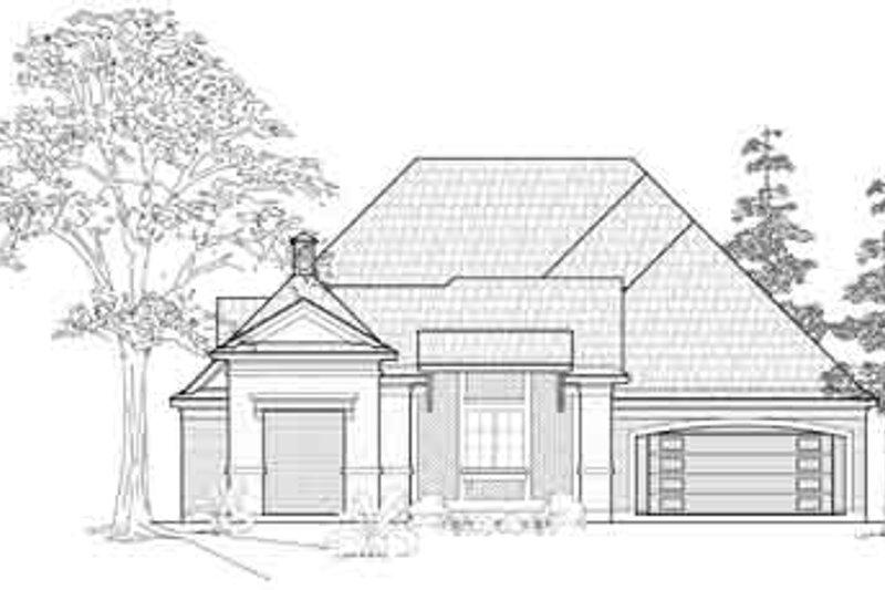 European Exterior - Front Elevation Plan #61-316 - Houseplans.com