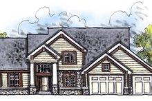 Home Plan - Craftsman Exterior - Front Elevation Plan #70-623