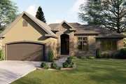 Traditional Style House Plan - 3 Beds 2 Baths 1688 Sq/Ft Plan #455-227 Exterior - Front Elevation