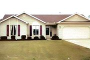 Modern Style House Plan - 3 Beds 2 Baths 1430 Sq/Ft Plan #421-110 Exterior - Front Elevation