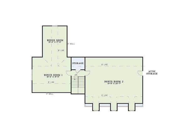 Country style houseplan farmhouse design floor plan