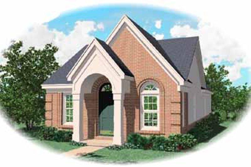 Southern Style House Plan - 3 Beds 2 Baths 1185 Sq/Ft Plan #81-125