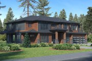 Traditional Style House Plan - 6 Beds 5.5 Baths 5765 Sq/Ft Plan #1066-78 Exterior - Other Elevation