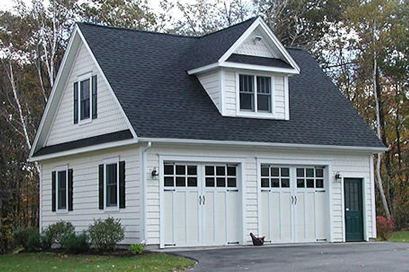 Traditional Style House Plan - 0 Beds 0 Baths 1136 Sq/Ft Plan #75-214 Exterior - Front Elevation