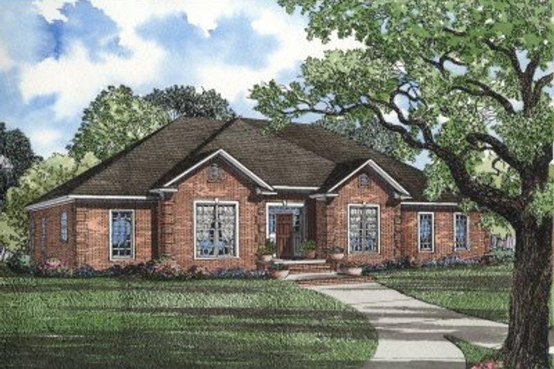 Dream House Plan - European Exterior - Front Elevation Plan #17-139