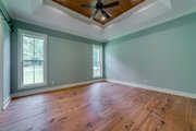 Craftsman Style House Plan - 4 Beds 3 Baths 2219 Sq/Ft Plan #430-174 Interior - Master Bedroom