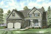 Craftsman Style House Plan - 4 Beds 3 Baths 2470 Sq/Ft Plan #17-2131
