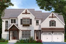 Traditional Exterior - Front Elevation Plan #927-1005