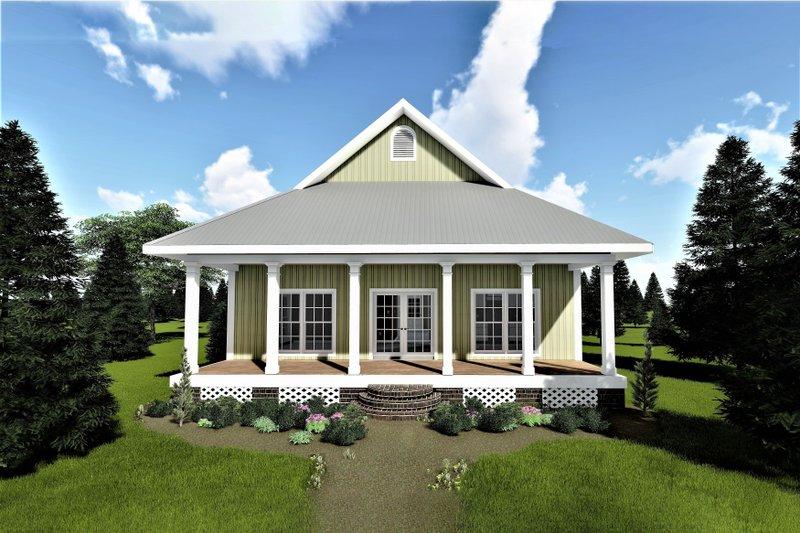 House Plan Design - Cottage Exterior - Front Elevation Plan #44-167
