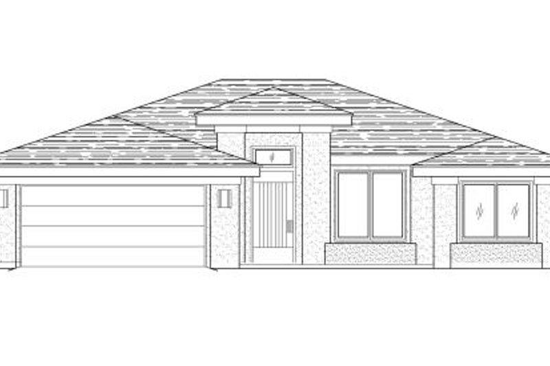 Adobe / Southwestern Style House Plan - 3 Beds 2 Baths 1463 Sq/Ft Plan #24-250