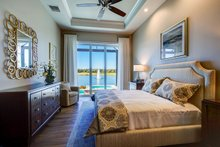 Mediterranean Interior - Master Bedroom Plan #930-480