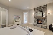 Cottage Style House Plan - 4 Beds 3.5 Baths 4420 Sq/Ft Plan #132-568 Interior - Master Bedroom