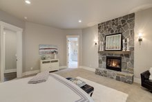 Cottage Interior - Master Bedroom Plan #132-568