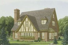 Architectural House Design - European Exterior - Front Elevation Plan #410-137