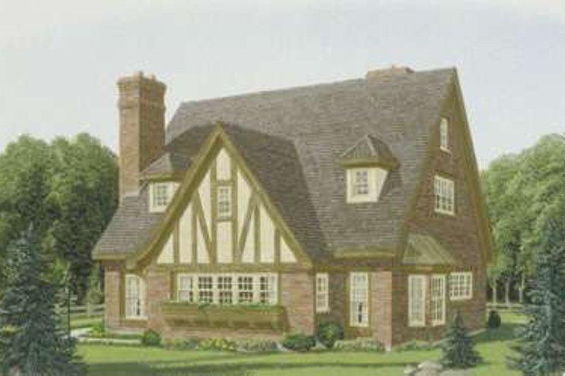 Home Plan - European Exterior - Front Elevation Plan #410-137