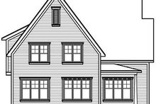 Farmhouse Exterior - Rear Elevation Plan #23-719