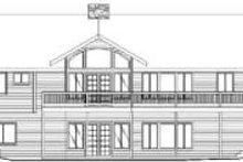 Traditional Exterior - Rear Elevation Plan #117-166