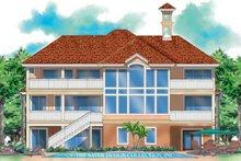 Home Plan - Mediterranean Exterior - Rear Elevation Plan #930-131