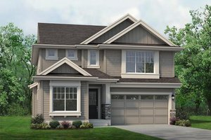 Home Plan Design - Colonial Exterior - Front Elevation Plan #1066-77