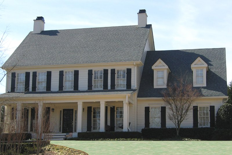 Home Plan - Traditional Exterior - Front Elevation Plan #54-402