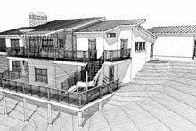 Contemporary Exterior - Other Elevation Plan #451-15