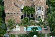Mediterranean Style House Plan - 5 Beds 6.5 Baths 5642 Sq/Ft Plan #420-176 Photo