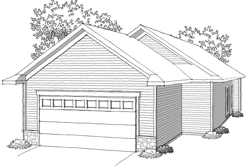 Ranch Photo Plan #70-1022 - Houseplans.com