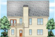 Traditional Style House Plan - 3 Beds 2 Baths 1506 Sq/Ft Plan #927-38 Exterior - Rear Elevation
