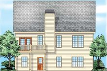 Dream House Plan - Traditional Exterior - Rear Elevation Plan #927-38