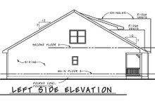 Dream House Plan - Farmhouse Exterior - Other Elevation Plan #20-2411