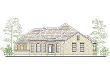 Dream House Plan - Traditional Exterior - Front Elevation Plan #80-157