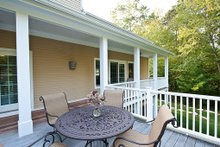 Architectural House Design - Rear deck - 3500 square foot Country Home